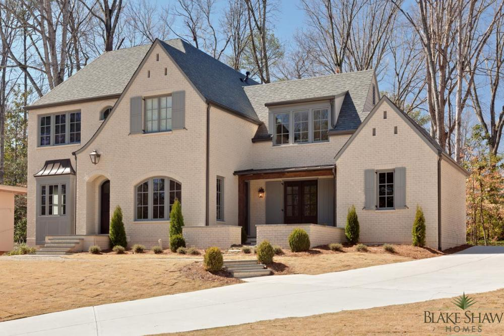 French Manor in Brookhaven Blake Shaw Homes Atlanta Athens