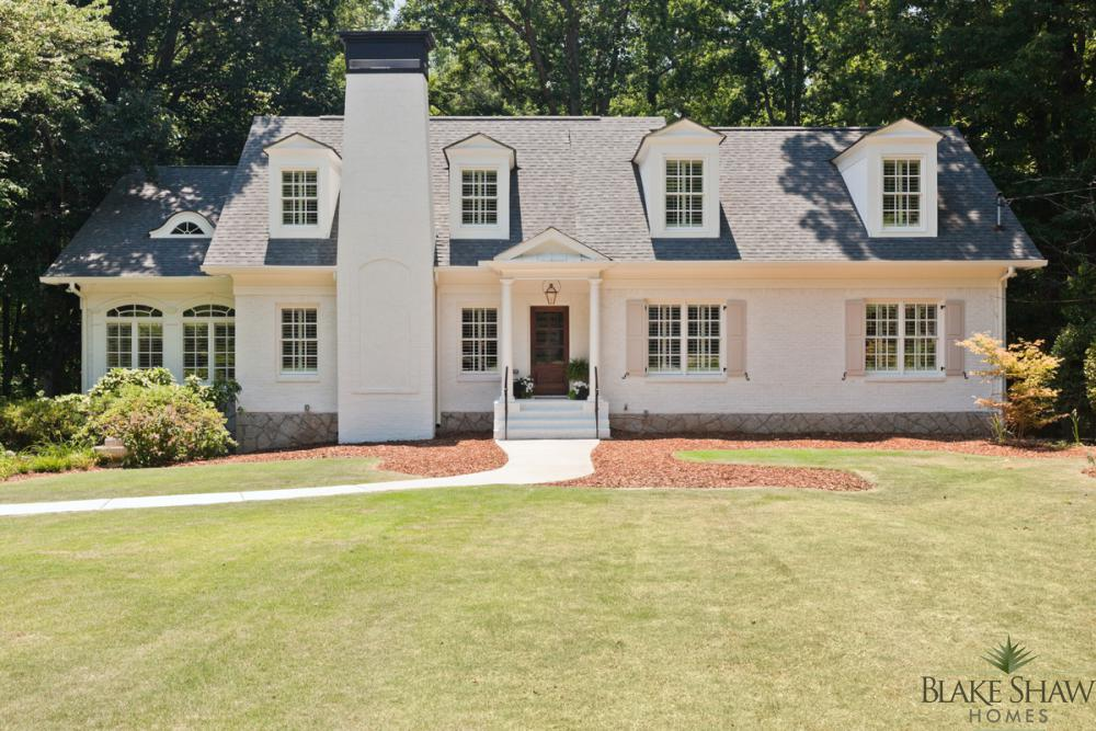 Brookhaven Cottage Renovation Blake Shaw Homes Atlanta