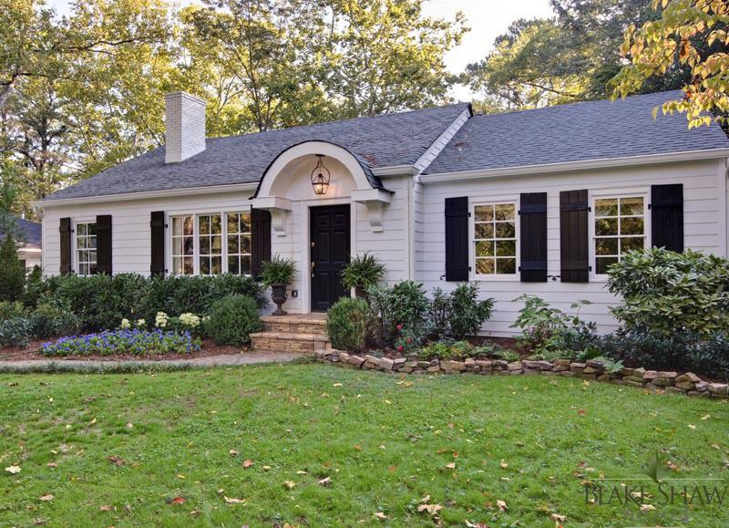 Buckhead cottage renovation blake shaw homes atlanta Custom cottage homes